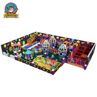 China Professional Indoor Jumping Equipment Commercial Grade Naughty Castle Theme on sale