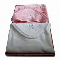 China Soft and Breathable Baby Sleeping Bags, Measures 75 x 75cm, Made of 100% Polyester wholesale