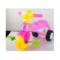 China Colorful Plastic Kids Ride On Toys Tricycle Balance Sliding With Removable Pedal wholesale