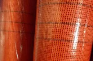 China 160g 1x50m orange color Window Screen Fiberglass Mosquito Mesh wholesale