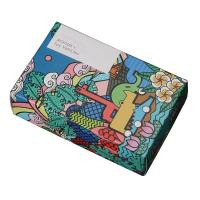 China Simple Style Recyclable Cardboard Toy Box With Three - Dimensional Cut wholesale