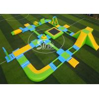 China Custom Design Giant Floating Inflatable Aqua Amusement Park For Summer Outdoor Water Playing wholesale