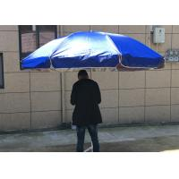 China Silver Coated Garden Sunshades Parasols UV Resistant For Business Promotion wholesale