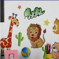 China Animal Set, Made of EVA, PVC and Art Paper, Available in Various Colors wholesale