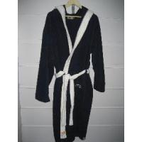 China Plain Dyed Terry Bathrobe, Cotton Bathrobe wholesale