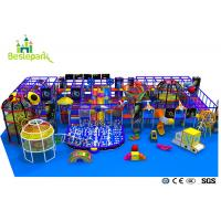 China Pre - School Play And Party Indoor Playground , Indoor Bouncing Playgrounds wholesale