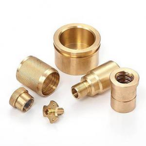 China Sandblast Anodized HPb63 HPb62 CNC Brass Machining Parts wholesale