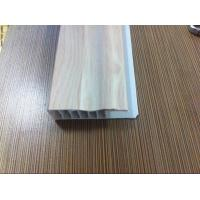 China Laminate Flooring Skirting Board Trim , Decorative White Laminate Skirting Board Plastic wholesale