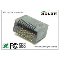China SFP+ CAGE & Connector 20PIN wholesale