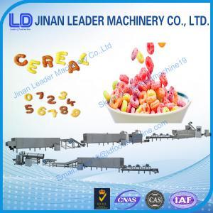 China Low price Breakfast Cereals Machine wholesale