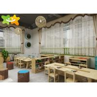 China Initiative Kindergarten Classroom Layout Multi - Area Section Pro Naturalness wholesale