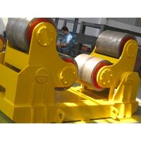 Quality PU Wheels 200T Pipe Welding Turning Rolls / Conventional Pipe Rotator for sale