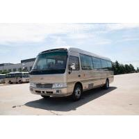 Buy cheap 4×2 Toyota Coaster Commercial Vehicles Folding Door Staff Small ISUZU Engine from wholesalers
