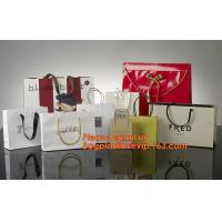 China High Quality And Fancy Customized Black Printed Luxury Gift Paper Shopping Bag wholesale