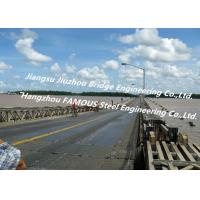 China Long Distance City River Crossing Bridge Pre-assembled Multi Span Steel Bailey Construction wholesale