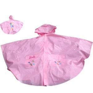 China Mickey Mouse PVC Rain Coats With Hood For Children , Promotional Long Rainwear wholesale