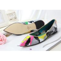 China Wholesale 14 new valentino camouflage yellow serpentine dream rivets shoes flat shoes wholesale