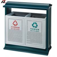 Quality Park Metal Rubbish Bin for sale