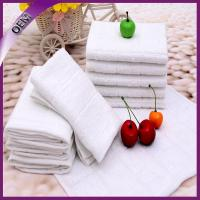 China wholesale high quality airline towel custom cheap white aviation towel on sale