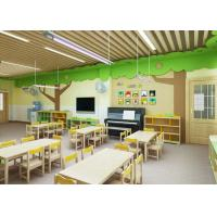 China Practical Kindergarten Classroom Floor Plan Solid Durable Economical CE SGS Approved wholesale