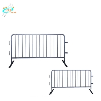 China Straight 1154mm Aluminum Concert Events Stage Barriers wholesale