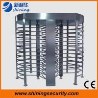 Quality RFID Full Height Turnstile Access Control , security Mechanical Turnstile for sale