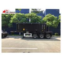 China Transport Container Skeletal Container Trailer 3 Axles Lightweight Heavy Capacity wholesale