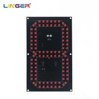 China 8 Inch 7 Segment Digit Led Components For Scoreboard , 5mm Diameter Diode wholesale