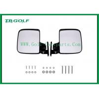China Foldable Golf Cart Side Mirrors With LED Light / Golf Buggy Accessories on sale