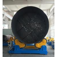 Buy cheap Large Rotary Capacity Automatic Rotator For Silo Tank Welding Production from wholesalers
