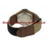 China Guaranteed quality nylon webbing/PU leather nylon hook loop watch wrist band wholesale