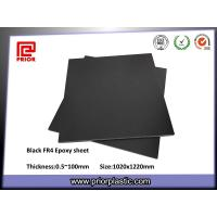 Buy cheap ESD/Anti-Static Materials, Black Fr4 Fiberglass Sheet from wholesalers