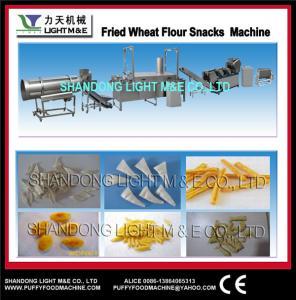 China Fried wheat flour snacks machine wholesale