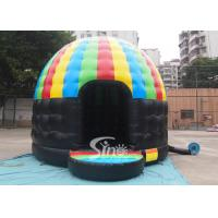 China Kids N adults party inflatable disco dome bouncy castle made of lead free pvc tarpaulin wholesale