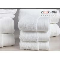 China 5 Star Hotel Hand Towels Face Towel Set Natural Anti Bacterial wholesale