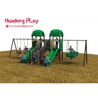China Kid Plastic Amusement Park Outdoor Playground Slides About 7 Volume Cubic Meter wholesale