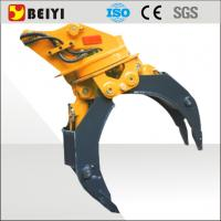China ISO9001 certified excavator hydraulic wood grapple with 360 degree rotation wholesale