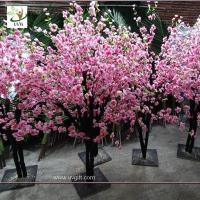 China UVG china wedding supplies party decoration pink artificial peach blossom trees for sale CHR152 wholesale