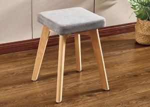 China Carefully Crafted Small Makeup Vanity Chair With Beech Leg wholesale