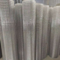 China Animal Farms 1 Inch X 2 Inch Bwg20 Galvanized Welded Iron Wire Mesh wholesale