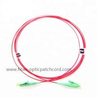 Buy cheap Polarization Maintaining Slow Axis LC Patch Cord PM Jumper / Panda Fiber 980 from wholesalers