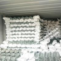 Buy cheap 50mm Corrison Resistance Hot Dipped Galvanized Chain Link Fencing from wholesalers