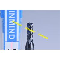 China Standard Length Type 2 Flute 0.3mm Micro End Mill 0.6UM Grain Size wholesale