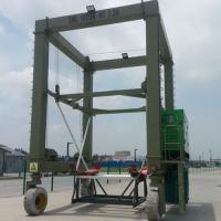 Buy cheap Hydraulic Boat Lifting Rubber Tire Ship Gantry Crane ISO / CE / SGS Certificatio from wholesalers