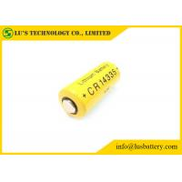 China Long Shelf Life 2 3 Aa Lithium Battery / Non Rechargeable Battery CR14335 800mah wholesale