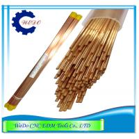 China 1.0x400mmL Double Hole Eletrode Pipe Brass Copper Tube For EDM Drill Machine wholesale