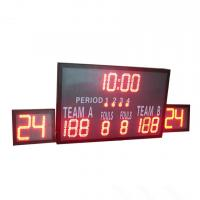 China Outside Multi Portable Basketball Score Clock , Basketball Game Scoreboard wholesale
