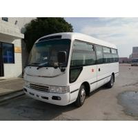 Buy cheap Big Passenger Coaster Star Travel Buses Durable Red With 19 Seats Capacity from wholesalers