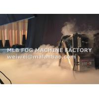 China Indoor / Outdoor Stage Ground Hot Water / Dry Ice Machine MLB DIM-6000 wholesale