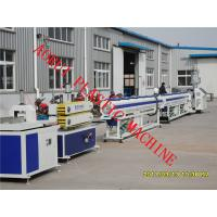 Quality PP / HDPE Energy Water Supply Single Screw Extruder Pipe Machinery for sale
